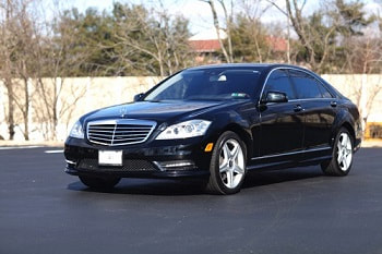 mercedes corporate limo car