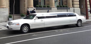 Pic Of Our Stretch Limousine in Montreal
